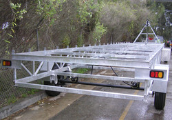 Portable Building Chassis