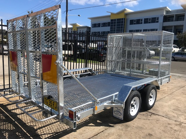 Randwick Council Mower Trailer