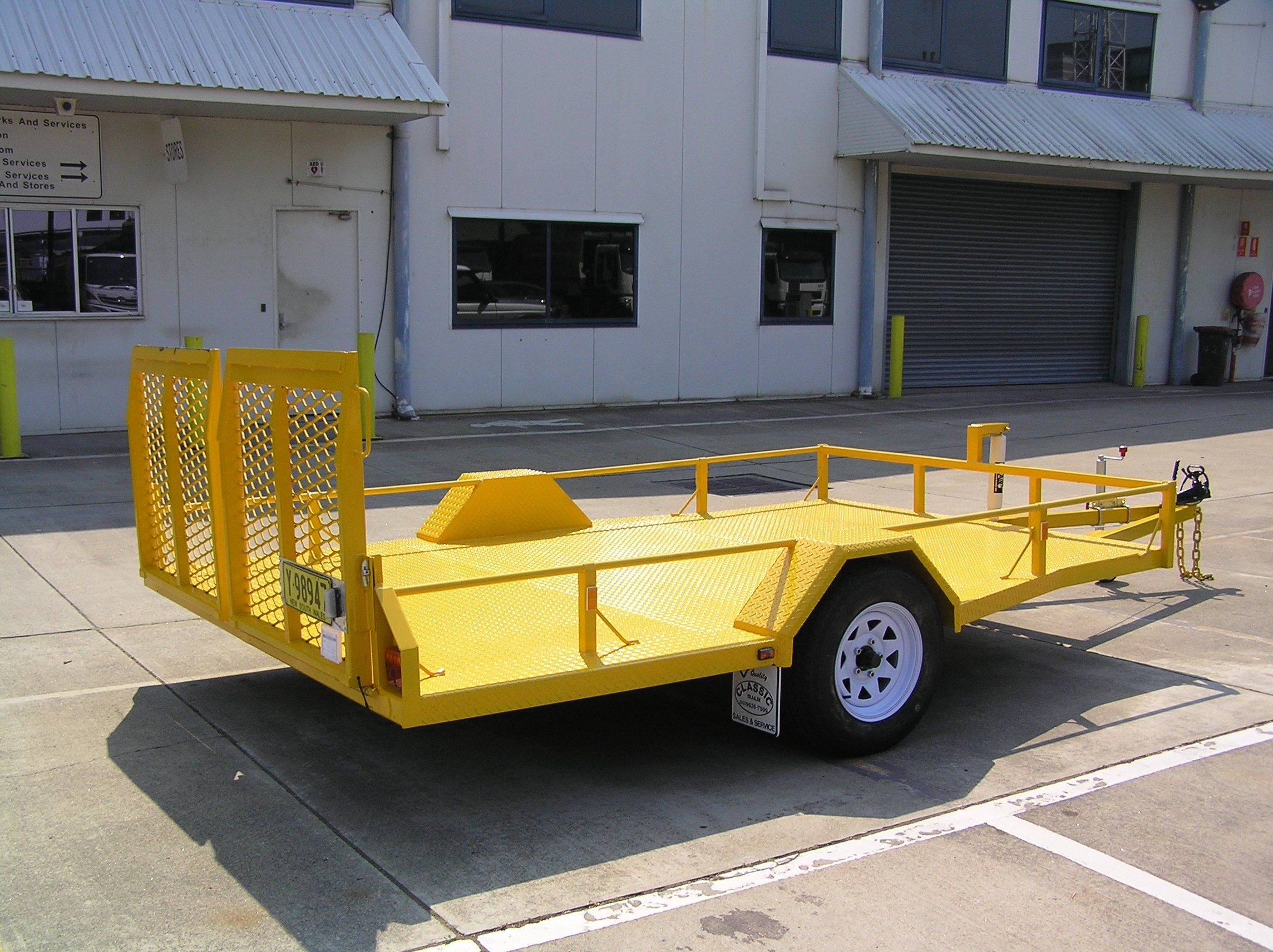 Woollahra Council Tilt Trailer