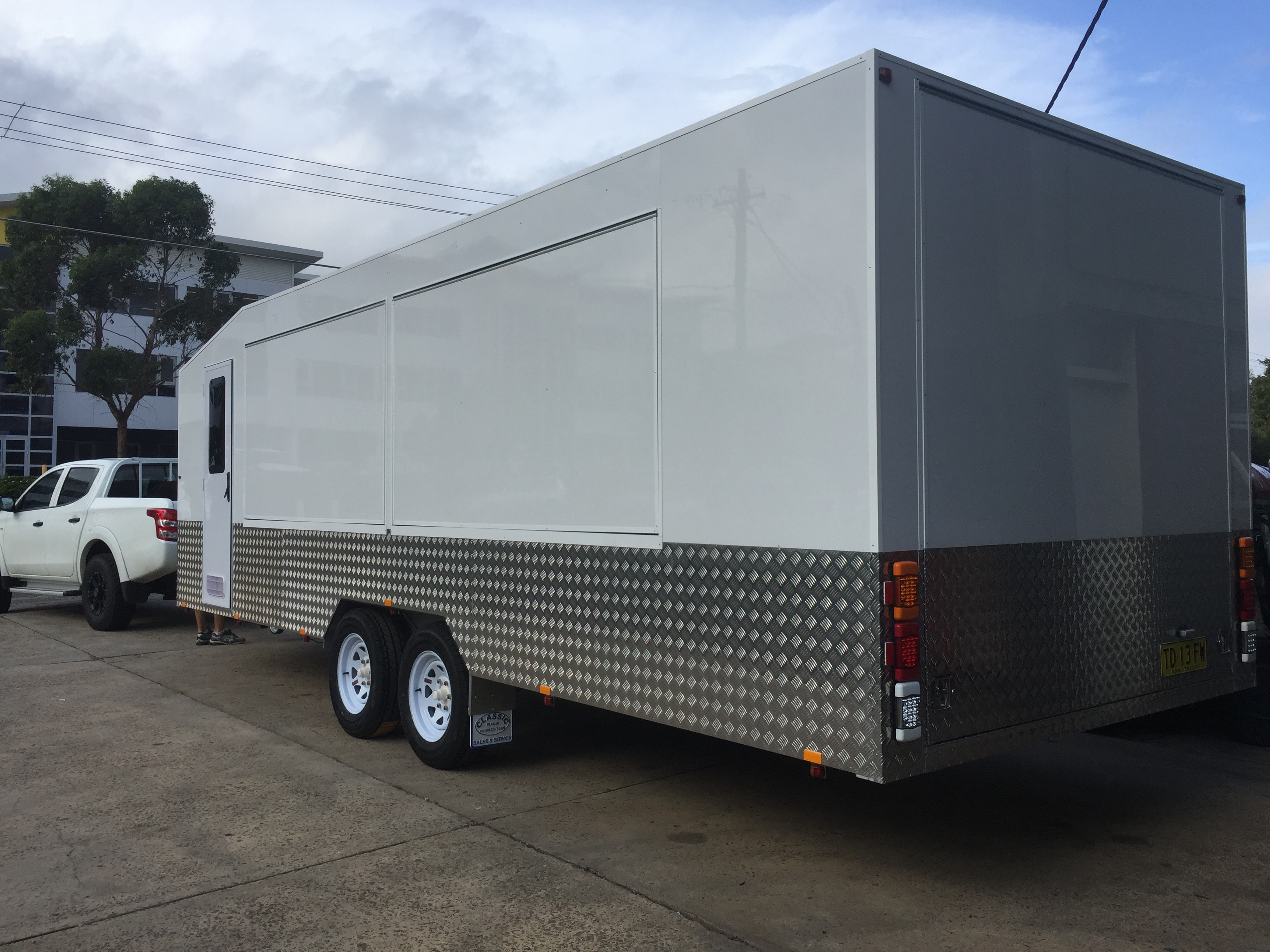 Marine Riley Vendor EnclosedTrailer