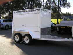 Builders Trailer 4WD Tandem