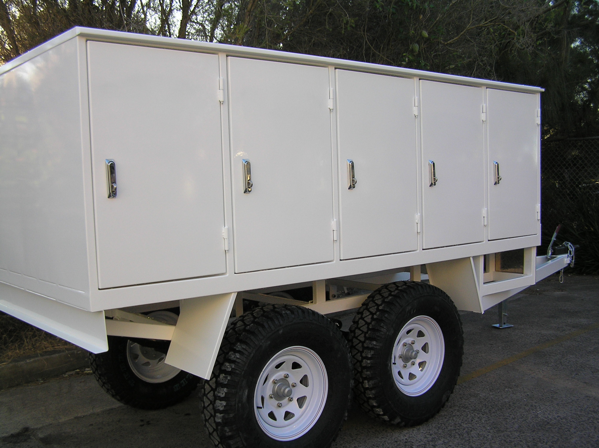 BHP Locker Trailer 2000kg