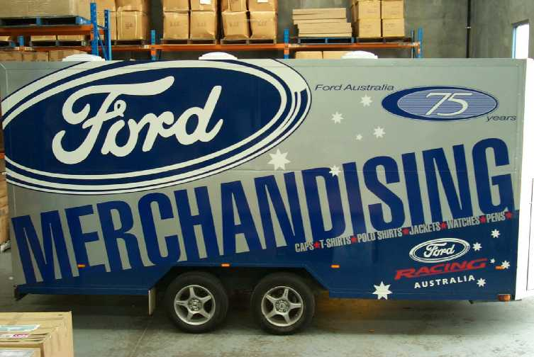 Ford Merchant Trailer