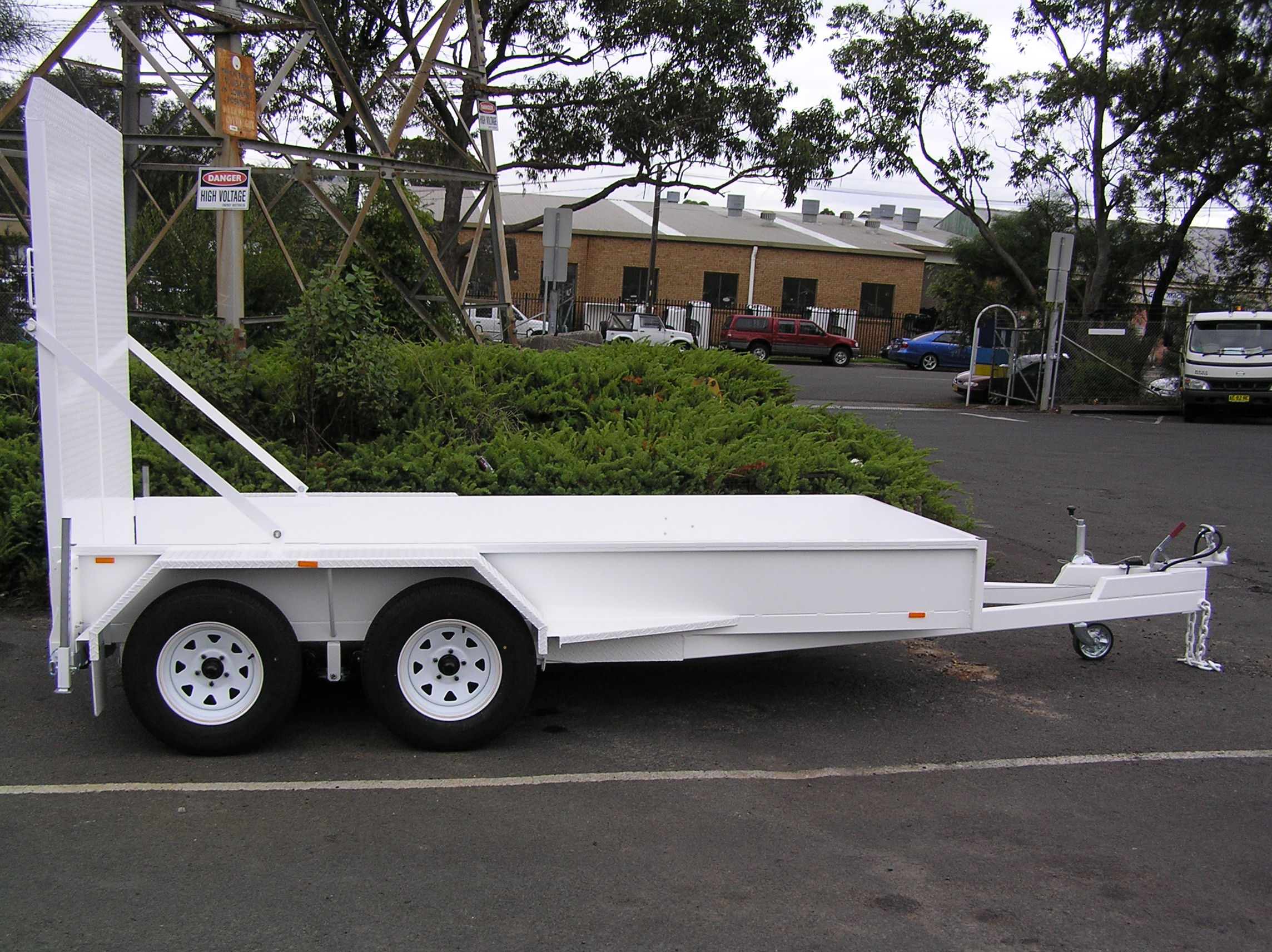 Sutherland Council Sweeper Trailer