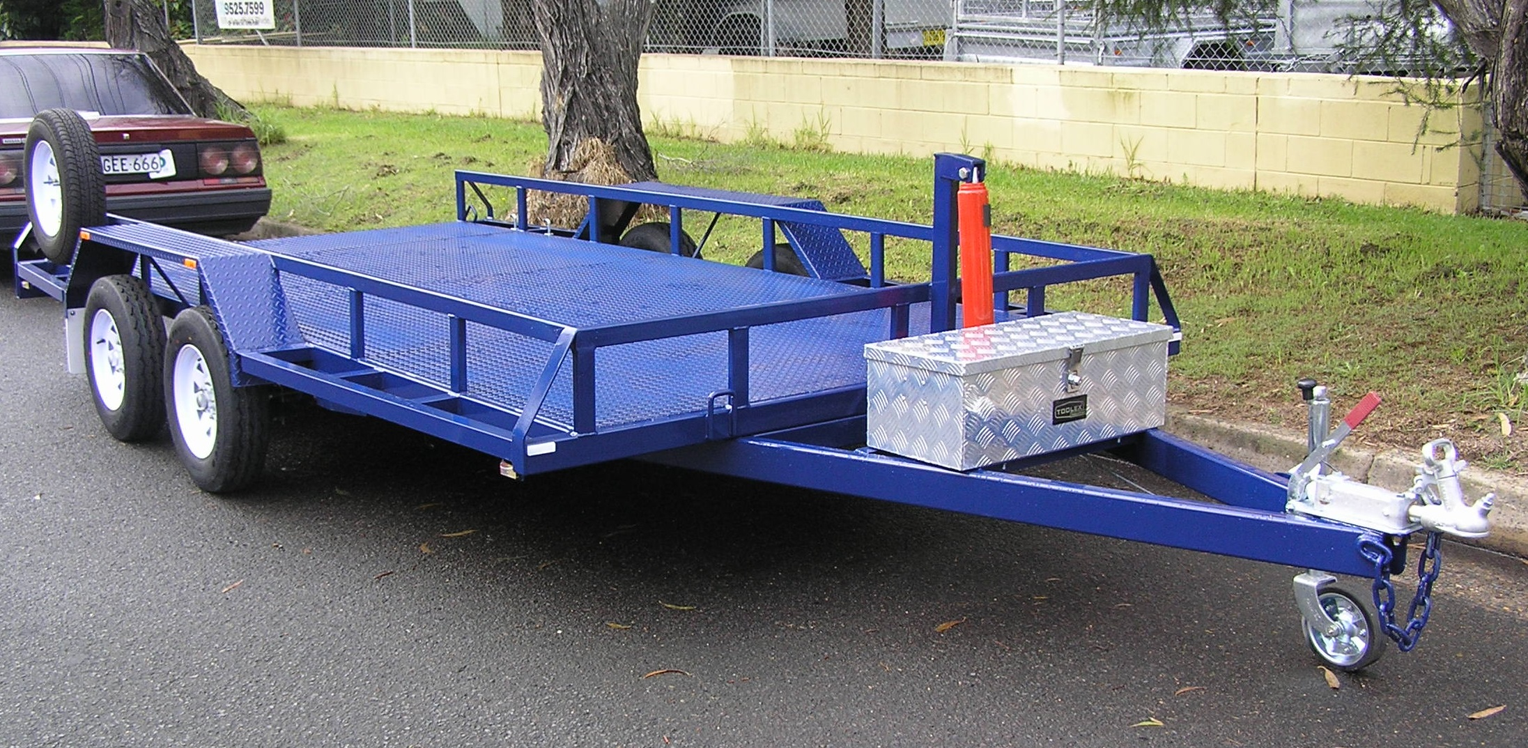 Car Trailer Manual Hyd