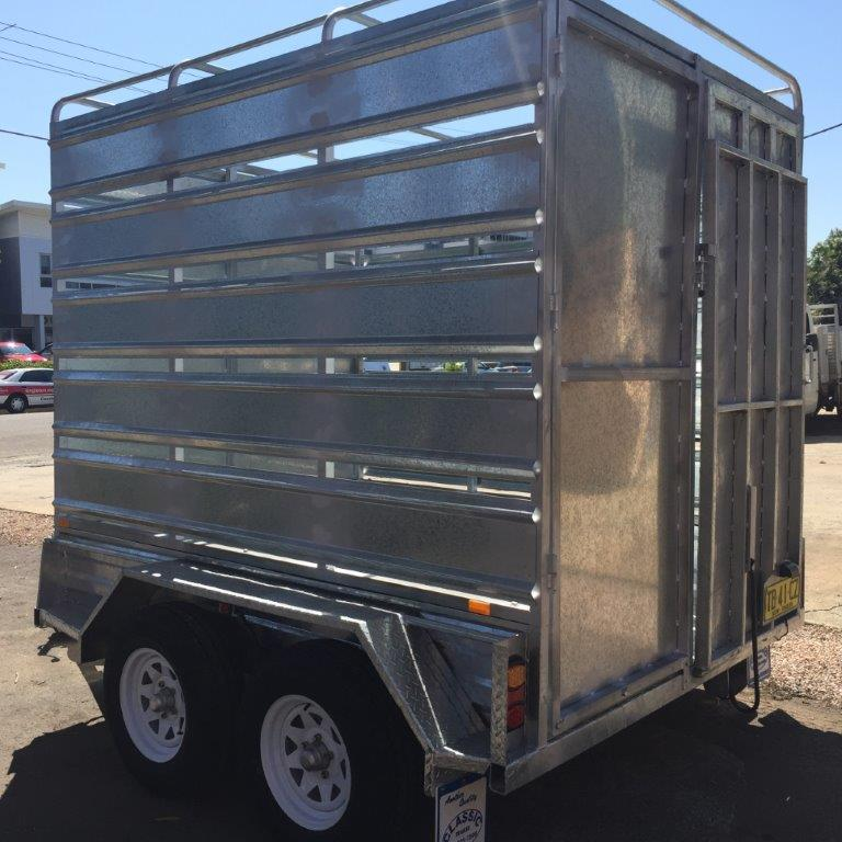 Bathurst Council Cattle Trailer