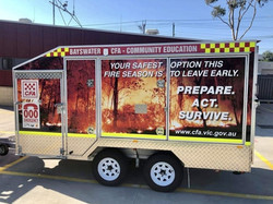 Bayswater Fire Vic Enclosed with Display & BBQ Division SK7969R