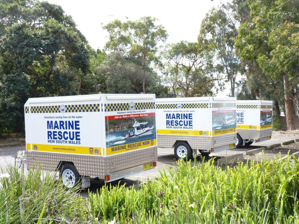 Marine Rescue Display/Media