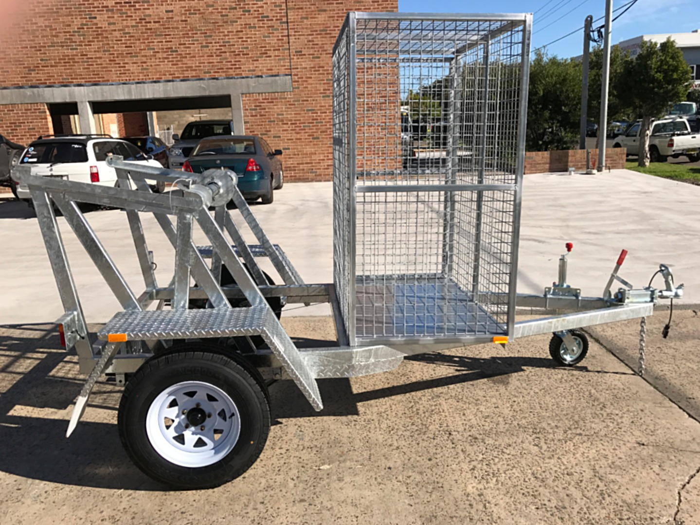 Cable Drum Manual Lift