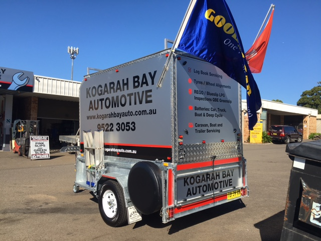 8x5 Box Trailer with Top