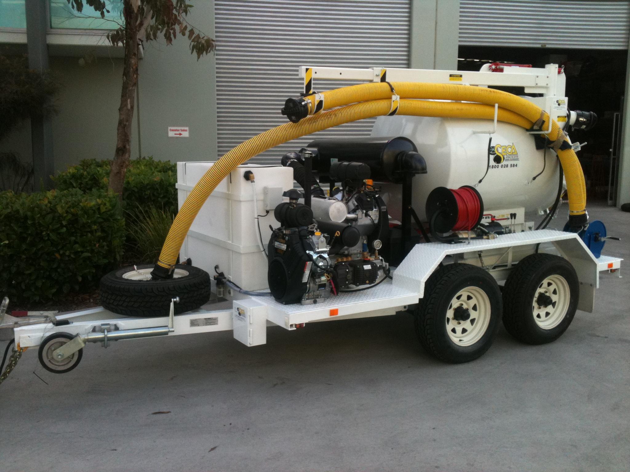 Seca  Water Jet 4 Ton