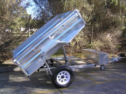 Bankstown Council 2100 x 1500 1500kg GVM 4000kg Elect Hyd Ram #7807 #7808 #7809
