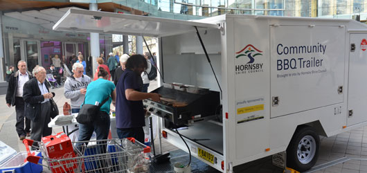 Hornsby Council Barbecue-trailer
