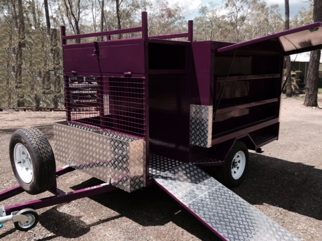 Vision Lifestyle Mower Trailer