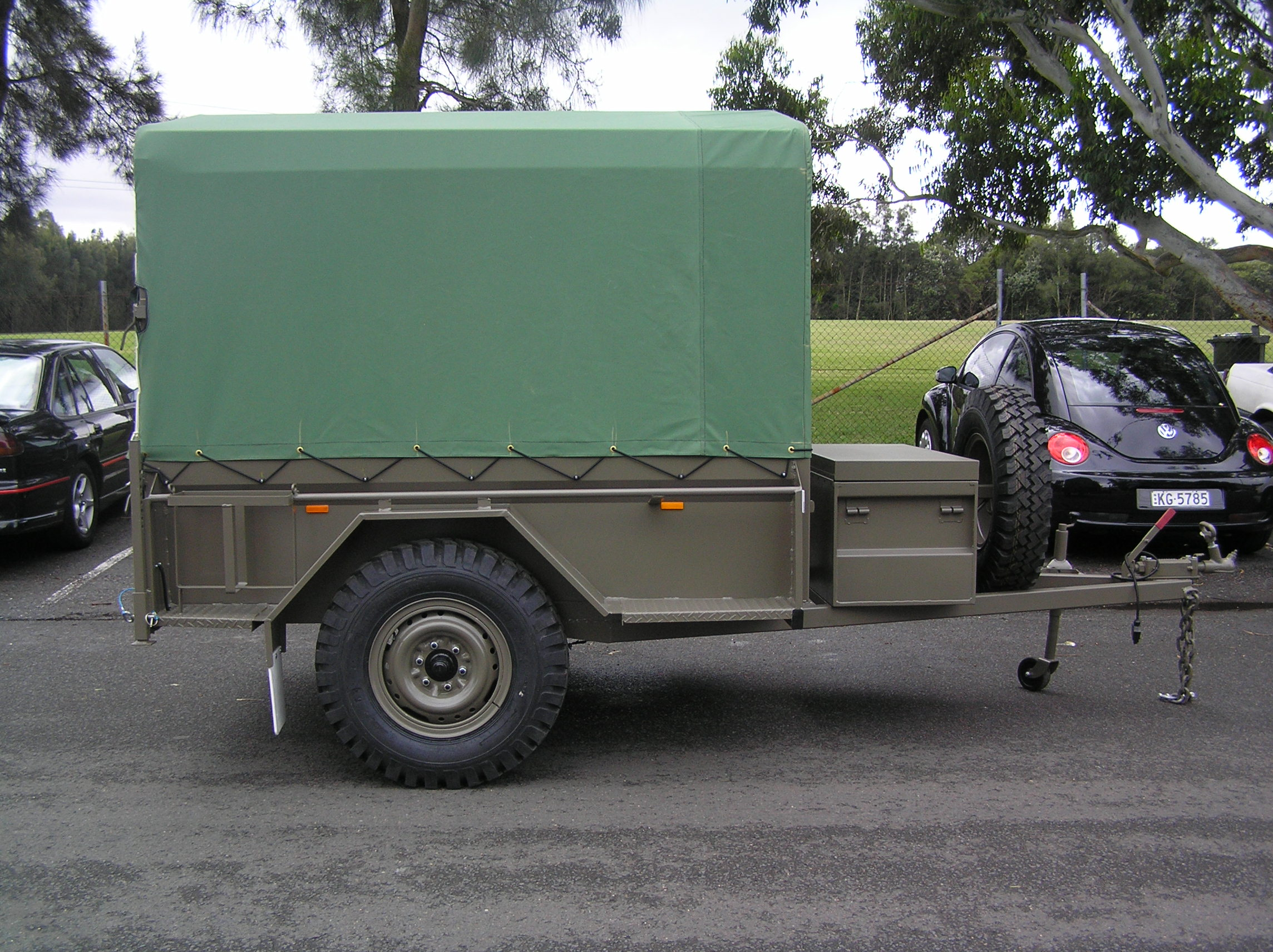 Dept of Defence 4WD 7 x 4