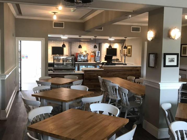 Morgan's Cafe after renovation.