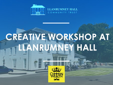 Free Creative Workshop at Llanrumney Hall