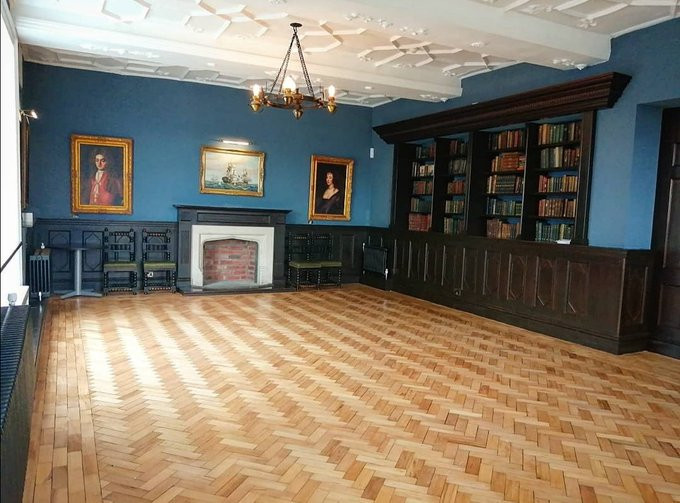 The Kemey's Room after renovation.