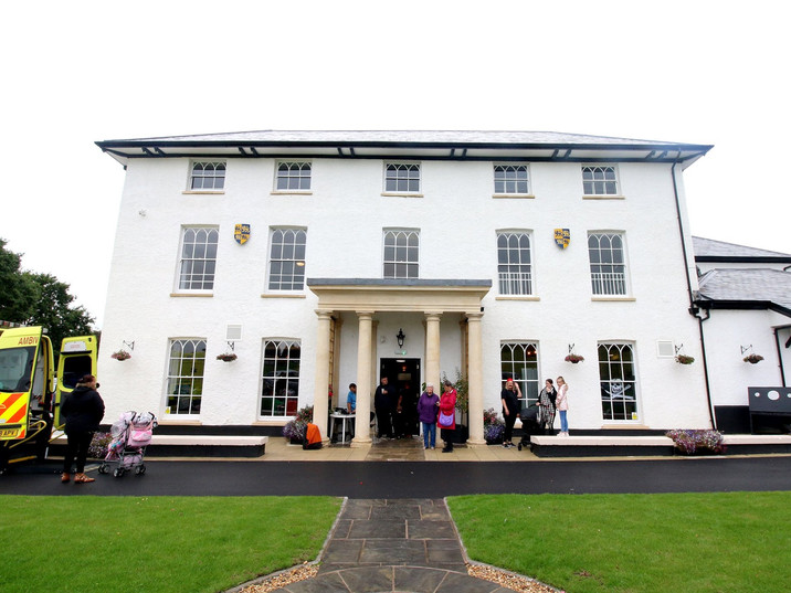 A picture of our beautiful Hall on our Open Day in 2019.