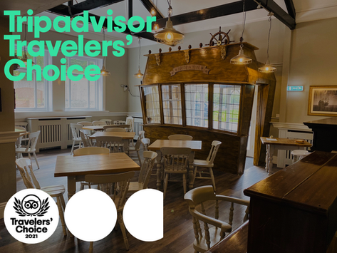 Morgan's Table Wins 2021 TripAdvisor Travelers' Choice Award