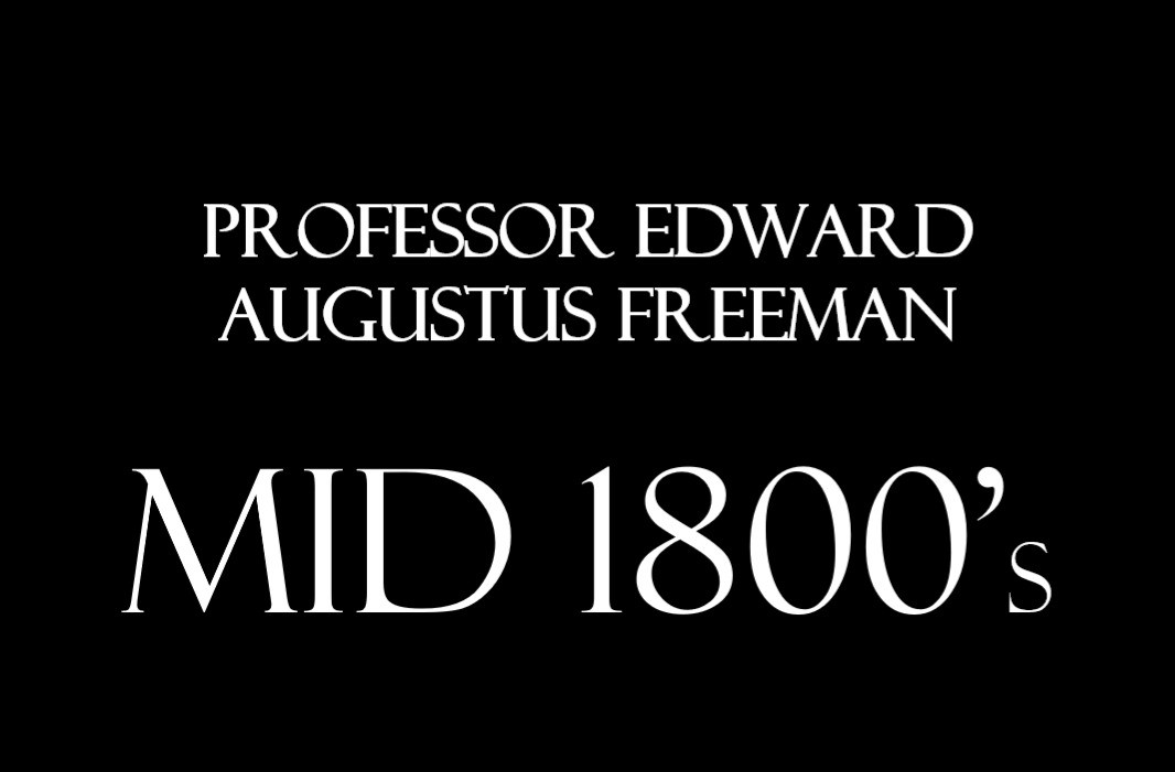 In the mid 19th century, the Hall was occupied by Professor Edward Augustus Freeman who was an English historian, architectural artist, and Liberal politician during the late-19th-century heyday of the Prime Minister William Gladstone.     As well as a one-time candidate for Parliament, he held the position of Regius Professor of Modern History at Oxford, where he tutored Arthur Evans, an archaeologist who is most famous for unearthing the palace of Knossos on the Greek island of Crete. Later he and Evans would be activists in the Balkan uprising of Bosnia and Herzegovina (1874-1878) against the Ottoman Empire.