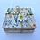 Thumbnail: Daisy Print Coaster & Trivet Set