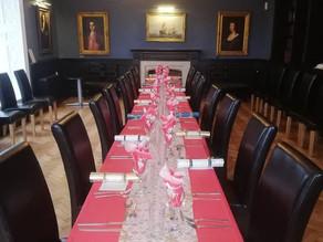 Christmas parties at Llanrumney Hall.