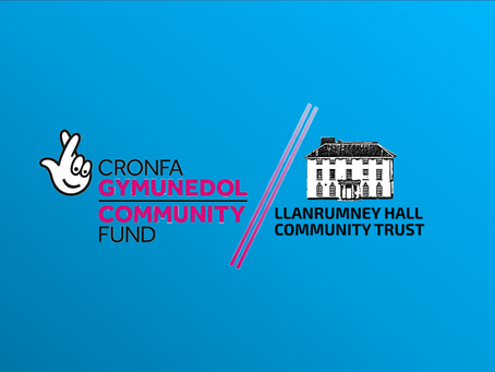 National Lottery Wales has Funded us £181,000 !!