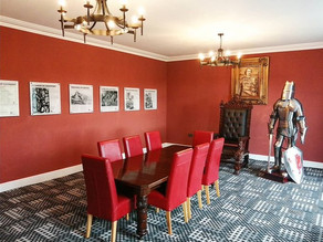 The Llewelyn Room after renovation.