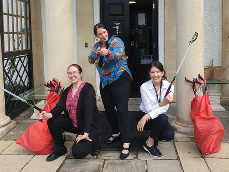We're Now A Litter Picking Hub