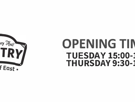 The Pantry Is Now Open For A Second Day!