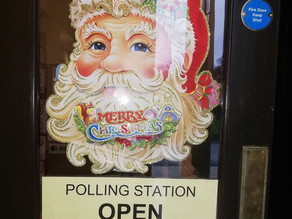 We were a polling station in the December 2019 general election.