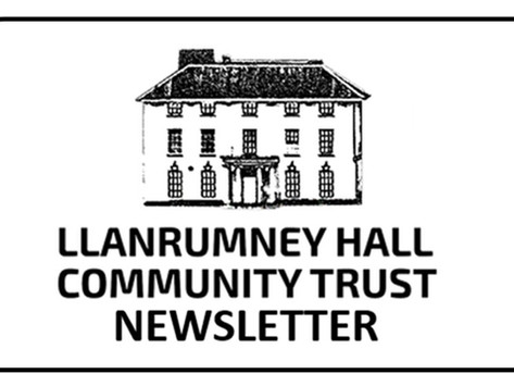 NEW: Llanrumney Hall September Newsletter - Volume 1
