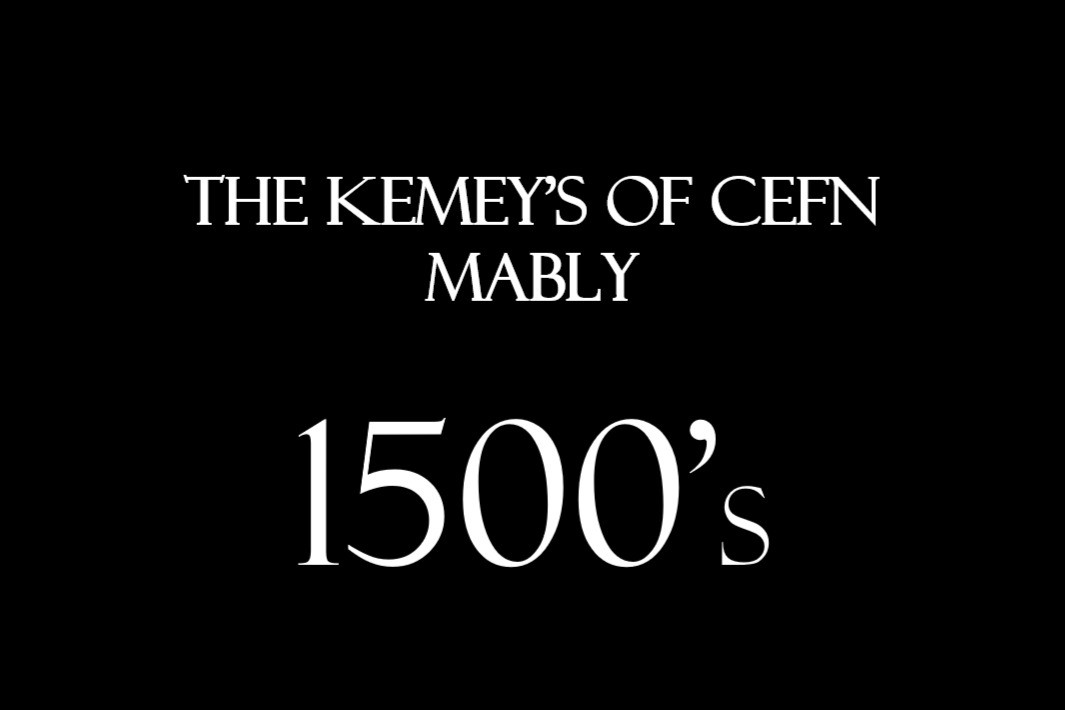 The original hall was built in 1450 and is thought to have been passed to the Kemeys family of Cefn Mably in the mid-1500's. The Cefn Mably branch of the Kemeys family is said to be descended from one Stephen de Kemeys, who held land in what is now Monmouthshire.     The first connection with Cefn Mably came when David Kemeys, son of Ievan Kemeys of Began, married Cecil, daughter of Llewelyn ab Evan ap Llewelyn ap Cynfig of Cefn Mably.
