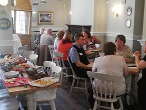 Guests at Morgan's Table.