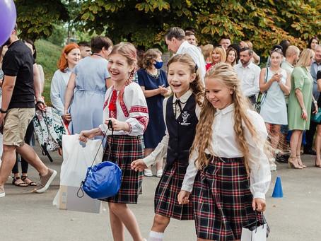 Приватна школа «МудрАнгелики» першою в Чернігові заснувала свою брендовану шкільну форму!