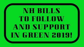 Energy & Plastics Use Bills to follow and support!