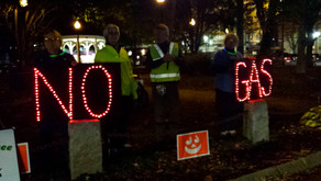 Light Up The Night Climate Rally a success! Next rally is November 11th!