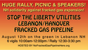 Rally, Picnic & Speakers to stop the Lebanon/Hanover pipeline, NH solidarity against fracked gas