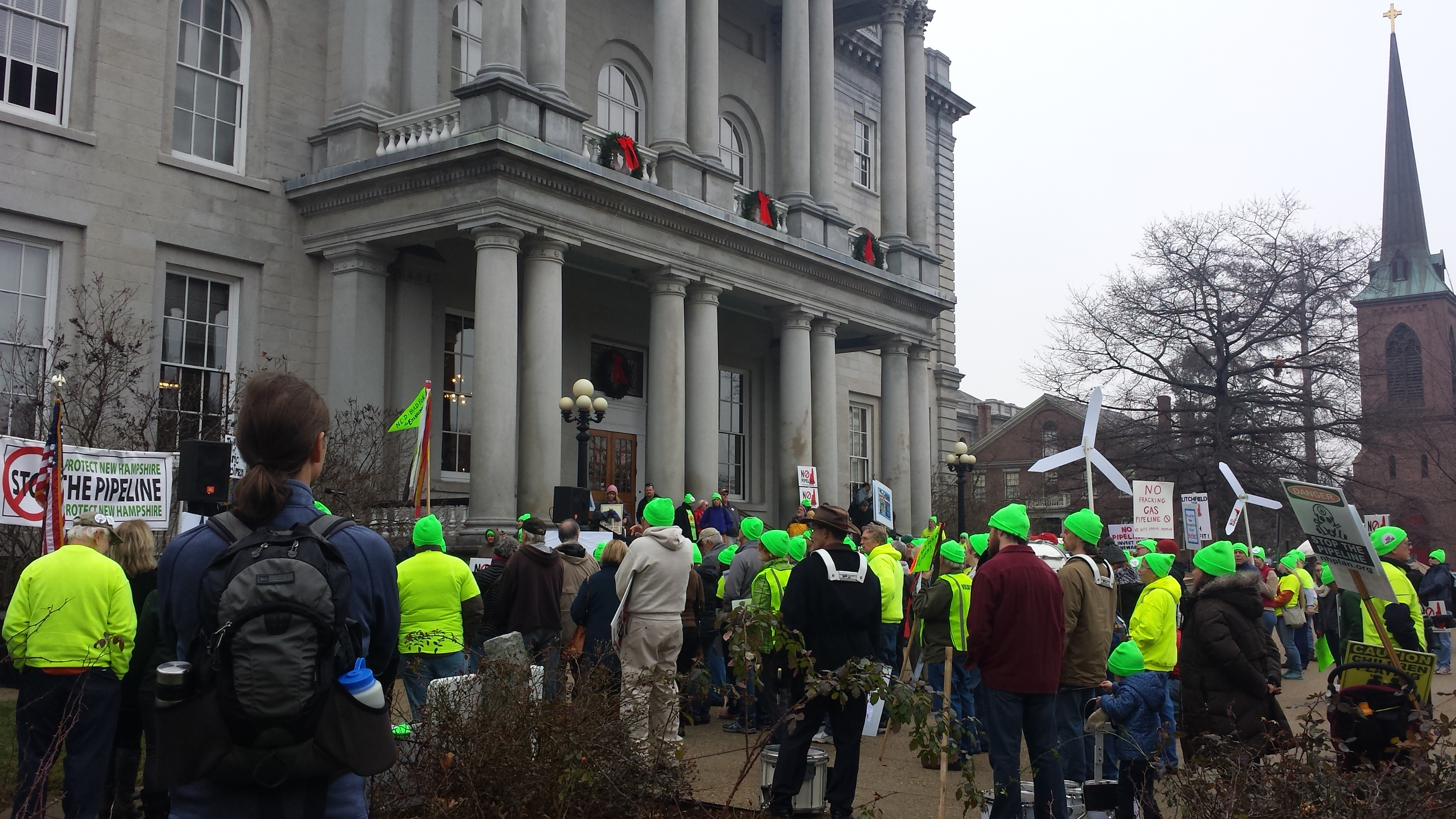 Rally at the NH State House