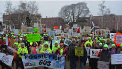 Pipeline Rally, Concord NH