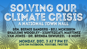 Bernie's Town Hall includes Democrats & Republicans going green for 2019