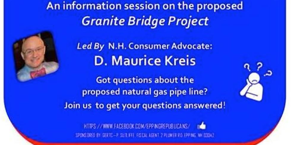 Epping GOP Candidates & D. Maurice Kreis on Granite Bridge