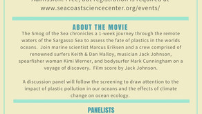 Smog of the Sea: Plastic Pollution, Danielle Baudrand panelist at Seacoast Science Center
