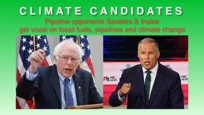 Sanders and Inslee oppose Line 3 pipeline leading up to Debate 2, is Granite Bridge next?