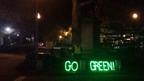 2nd #LightUpTheNight for climate action a success