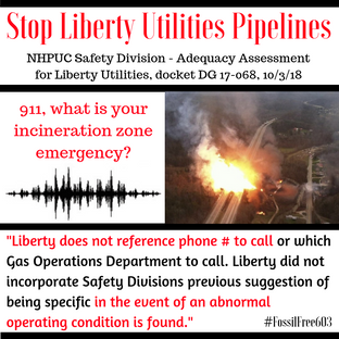 911, what is your incineration zone emergency?
