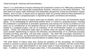 FERC Certification of New Interstate Natural Gas Facilities - your comments needed!