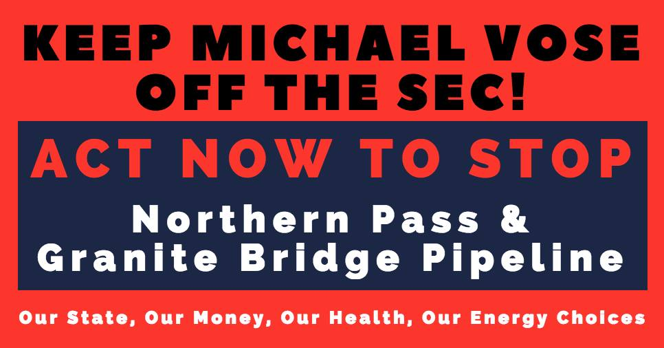 Keep Michael Vose off the NH Site Evaluation Committee