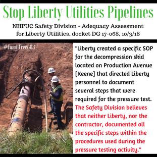 Liberty not failing their own procedures